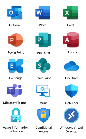 microsoft-365-icons-vertical